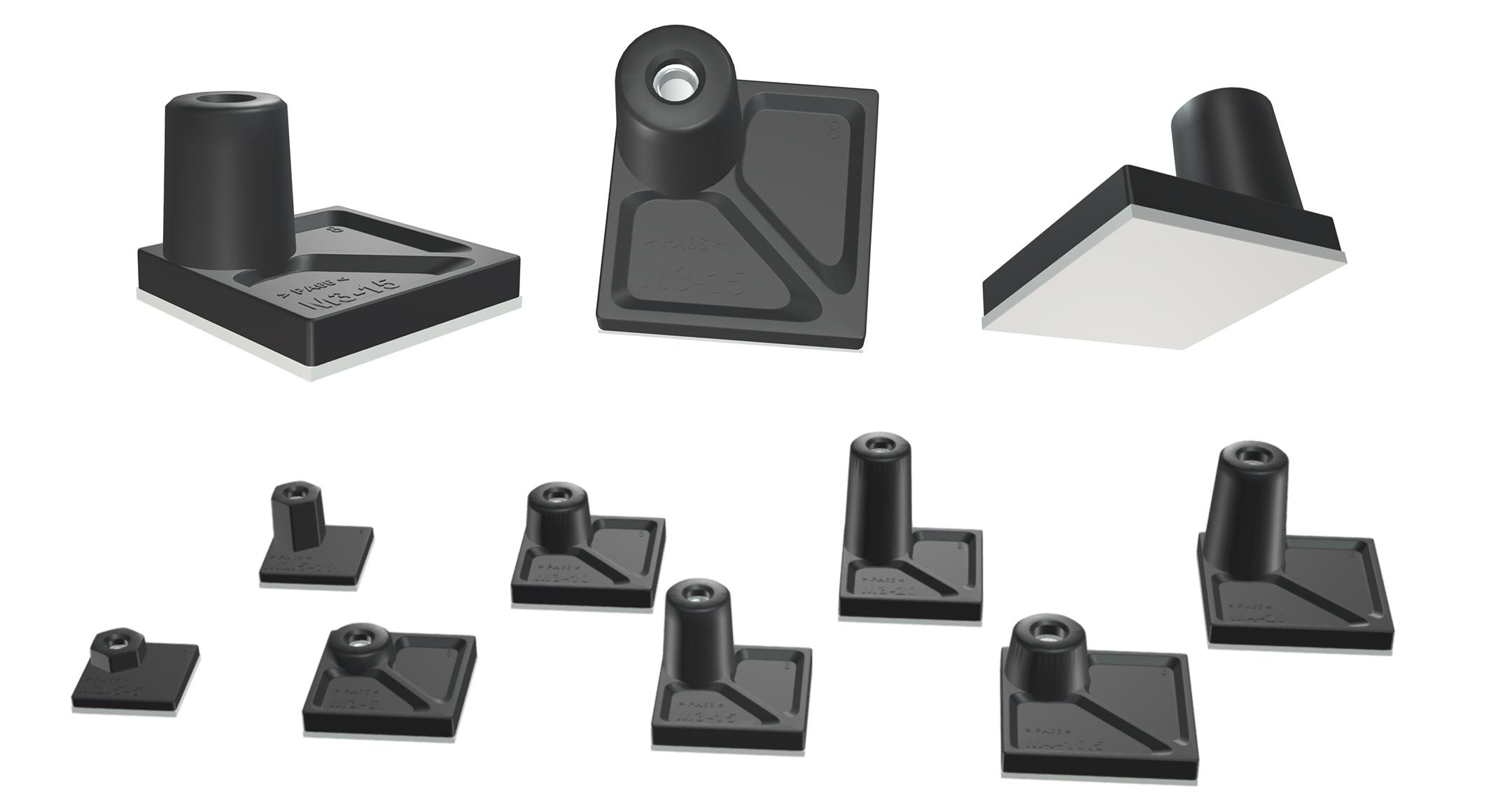 ナット入り貼付型スペーサー ASTシリーズの画像