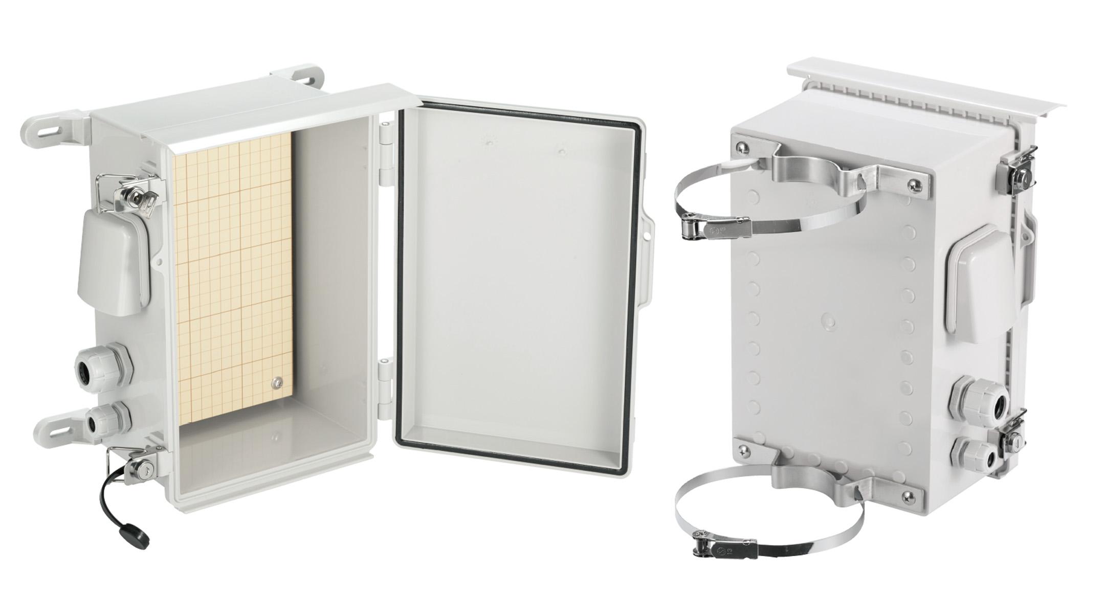 プラボックス 屋外ルーフ付 BCPRシリーズ(ポリカーボネート樹脂製)の画像