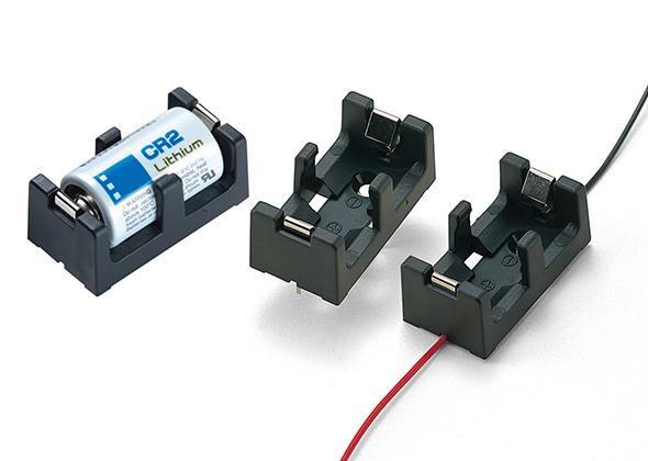 CR2・CR123A用リチウム電池ホルダー