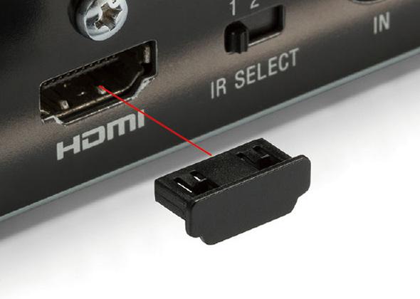 HDMIコネクタ防塵カバー HDMICシリーズ