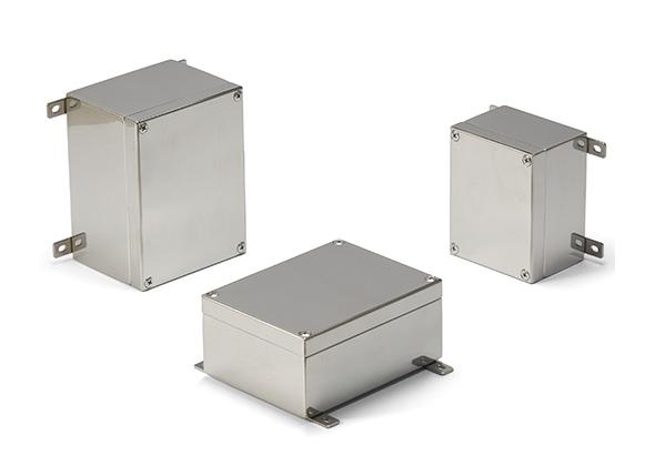 取付足付 小型防水ステンレスボックス KLBシリーズ