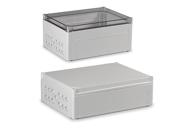 ノックアウト付ポリカーボネートボックス OPCMシリーズ