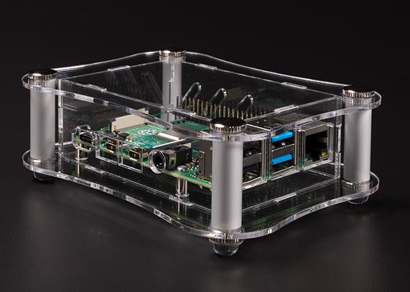 Raspberry Pi 4B用アクリルケース RPAシリーズ