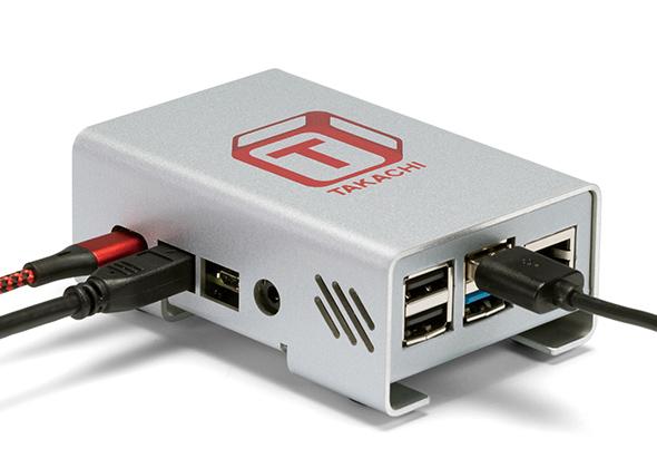 Raspberry Pi 4B ケース アルミ製 RPI-4シリーズ