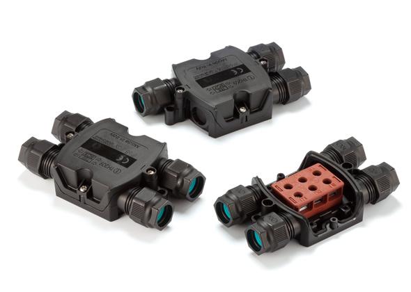 分岐型 防水中継ボックス THA209シリーズ