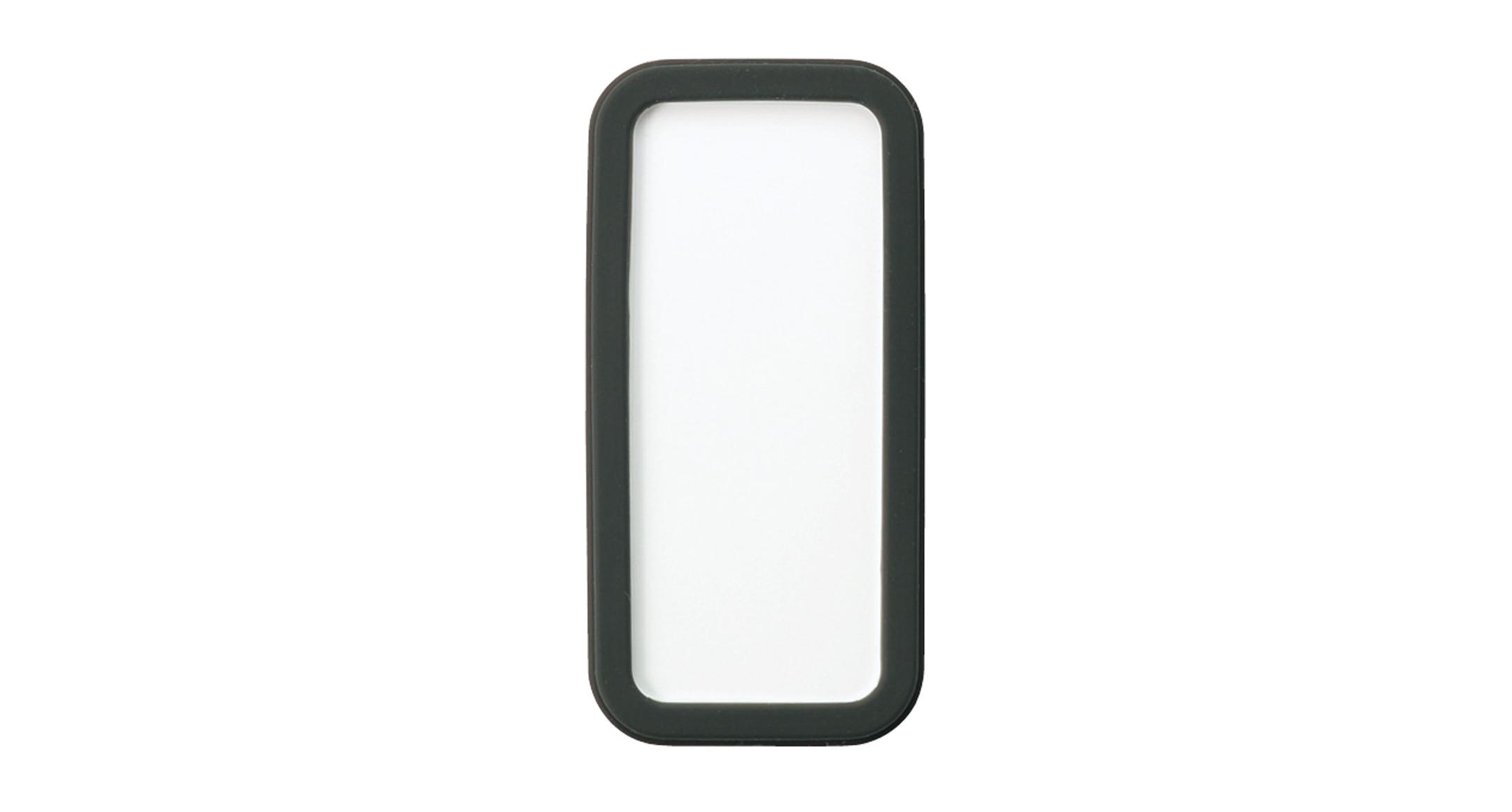 シリコンカバー付ポータブルケース CSSシリーズ:ホワイト/ブラックの画像