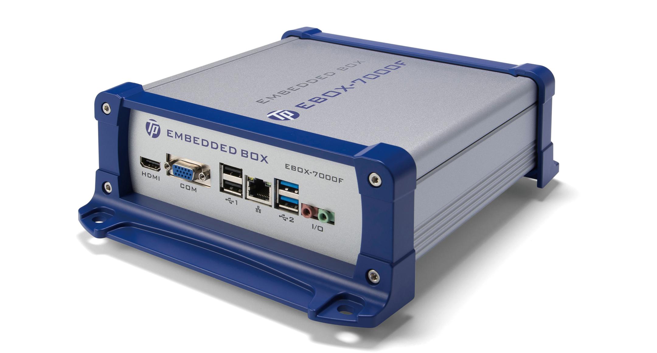 フランジ足付 EMCシールドアルミケース EXEFシリーズの画像