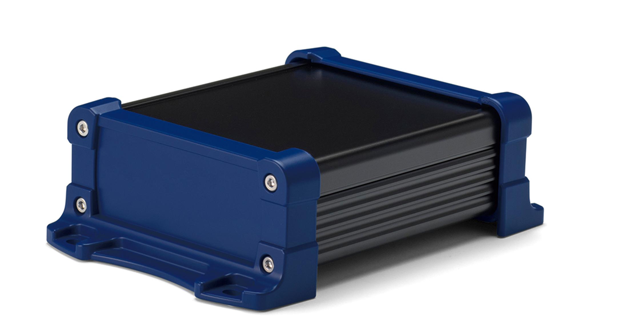 IP65防水 フランジ足付フリーサイズケース EXWFSシリーズ:ブラック/ネイビーの画像