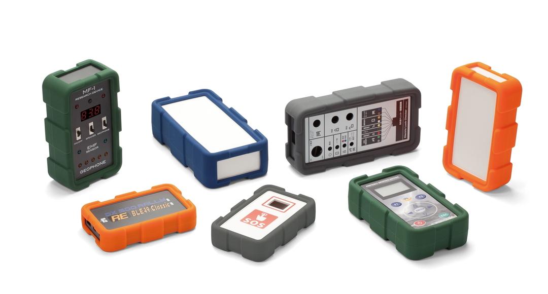 耐衝撃シリコンカバー付プラスチックケース LCTシリーズの画像