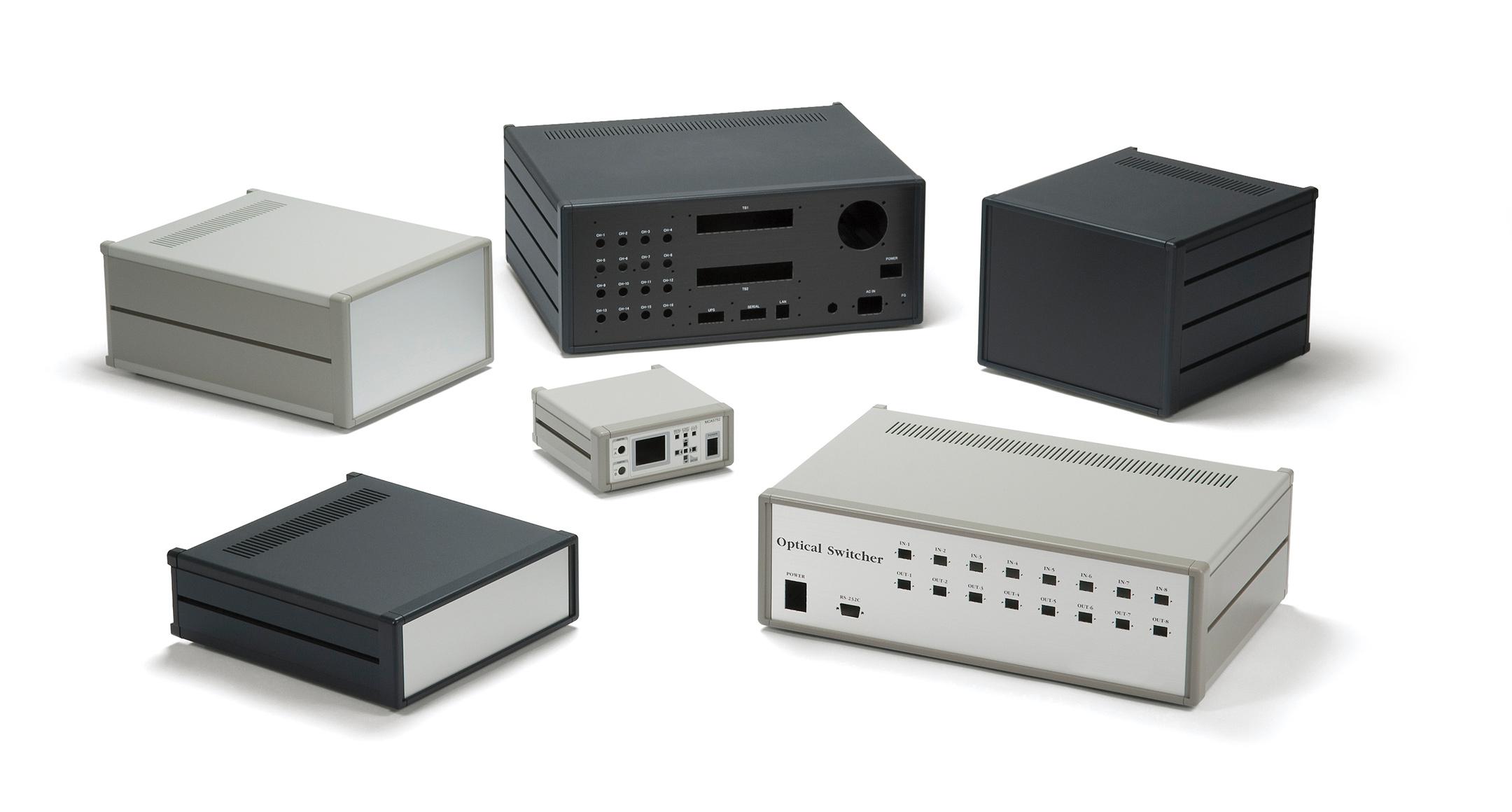 メタルシステムケース MSシリーズ(上下カバー鉄製)の画像