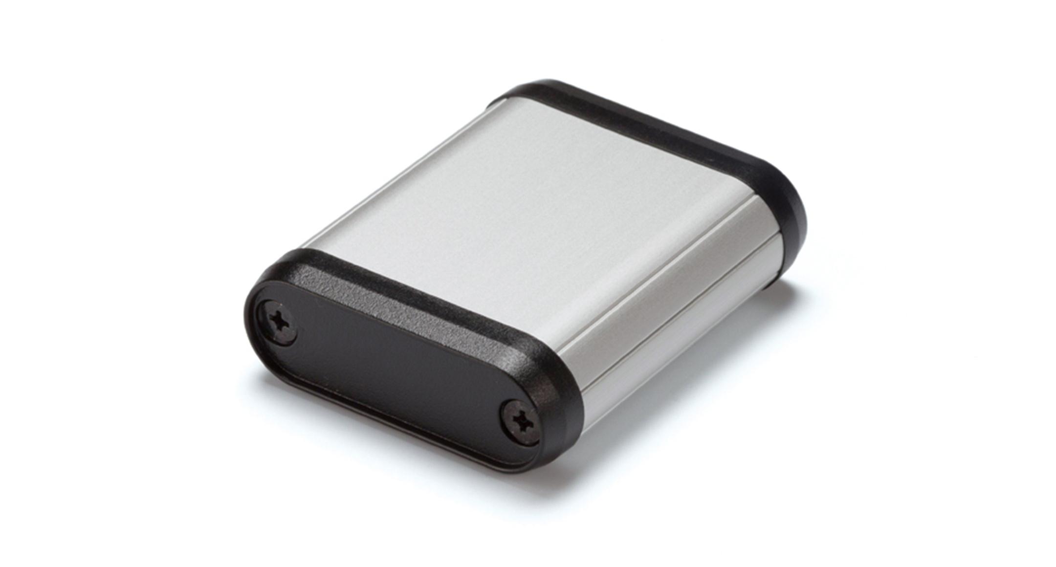丸型モバイルケース MXシリーズ:シルバー/ブラックの画像