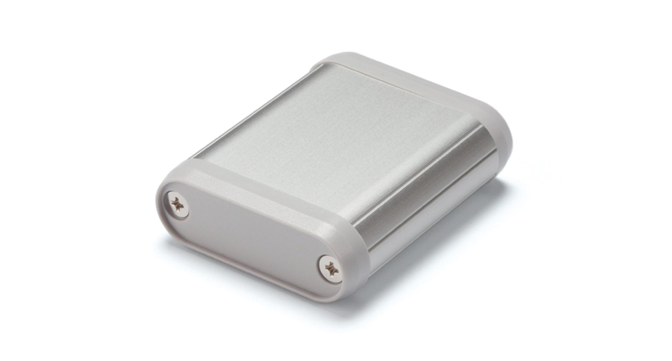 丸型モバイルケース MXシリーズ:シルバー/グレーの画像