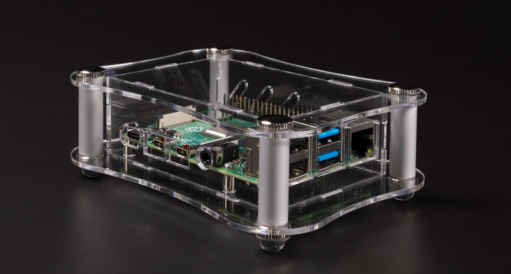 Raspberry Pi 4B用アクリルケース RPAシリーズの画像