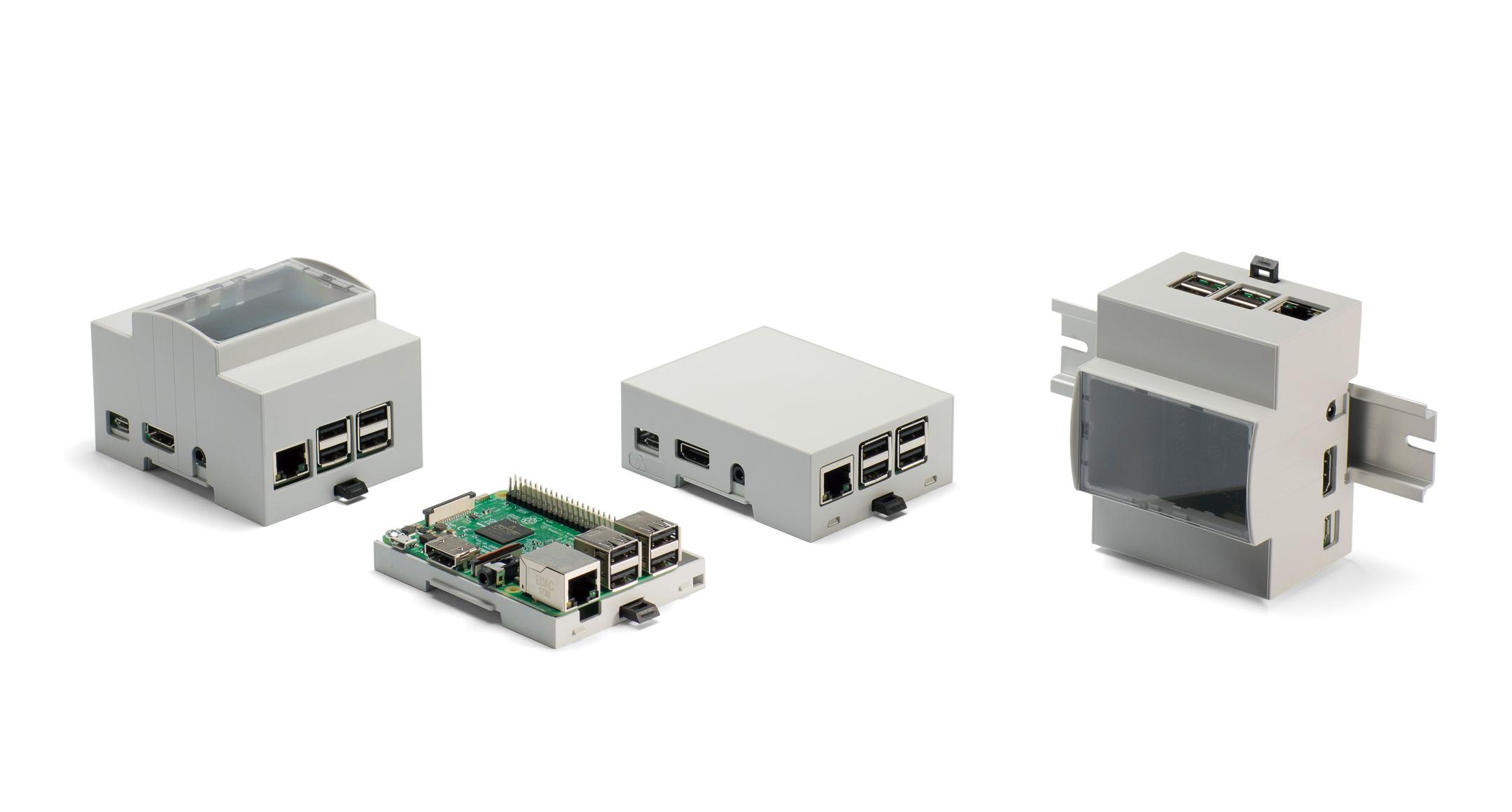 Raspberry Pi 2B/3B DINレールボックス RPDシリーズの画像
