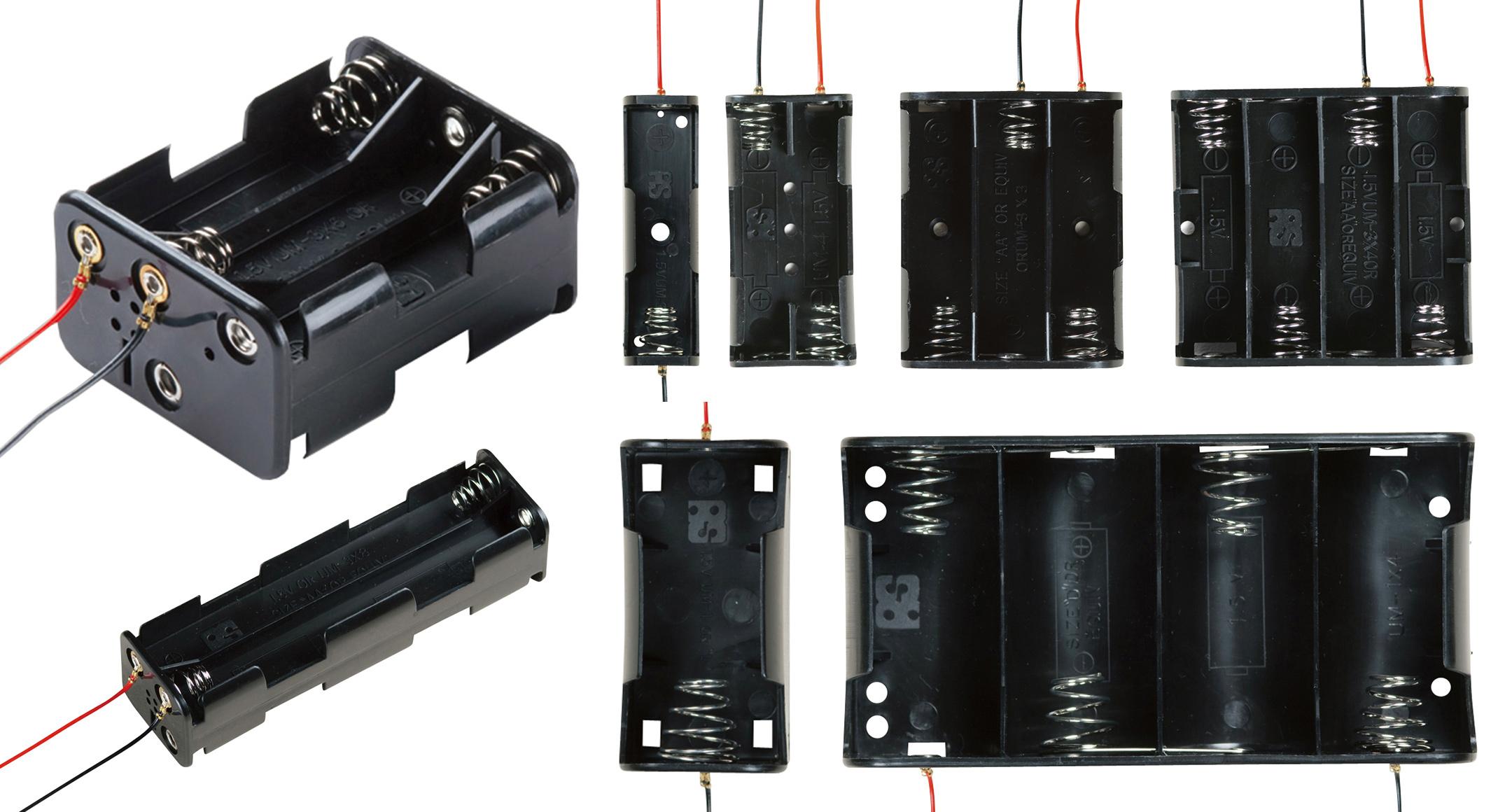 リード線付 電池ホルダー SN・MP・BHシリーズの画像