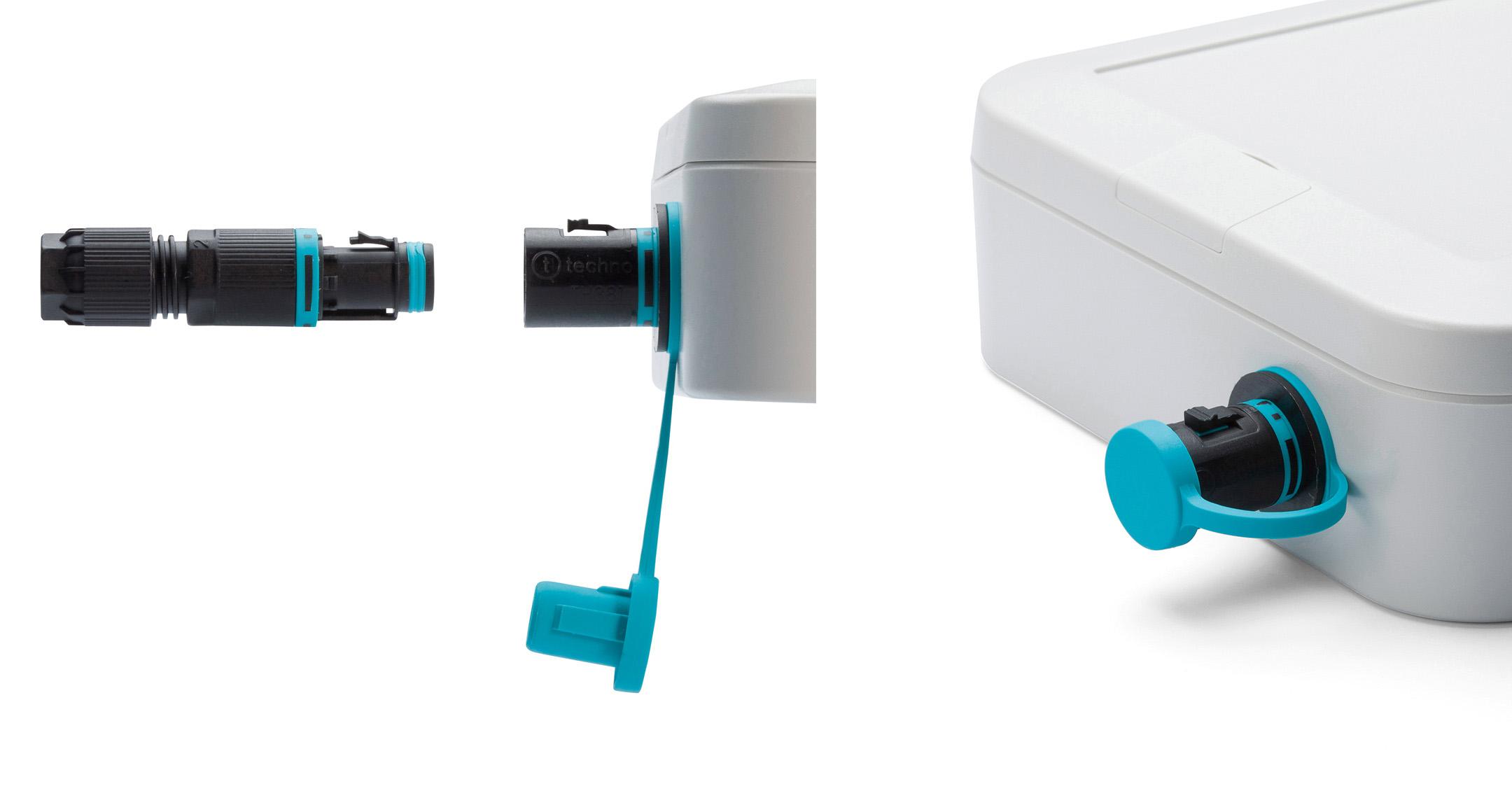 パネルマウント型マイクロ防水コネクタ THB381Eシリーズの画像