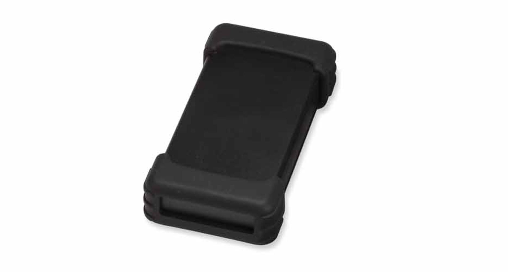 シリコンプロテクター付プラスチックケース TWSシリーズ:ブラック/ブラックの画像