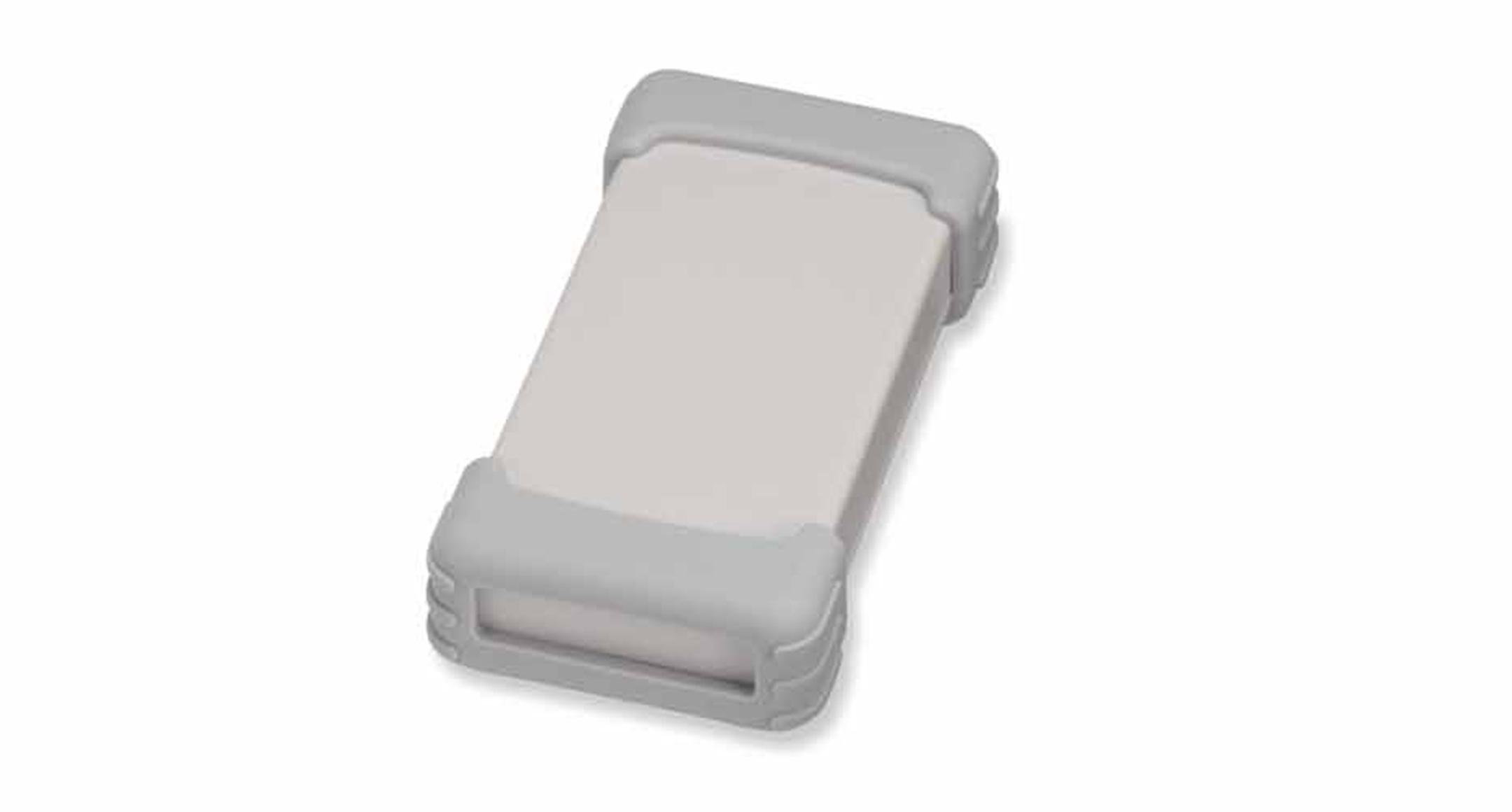 シリコンプロテクター付プラスチックケース TWSシリーズ:ライトグレー/ライトグレーの画像
