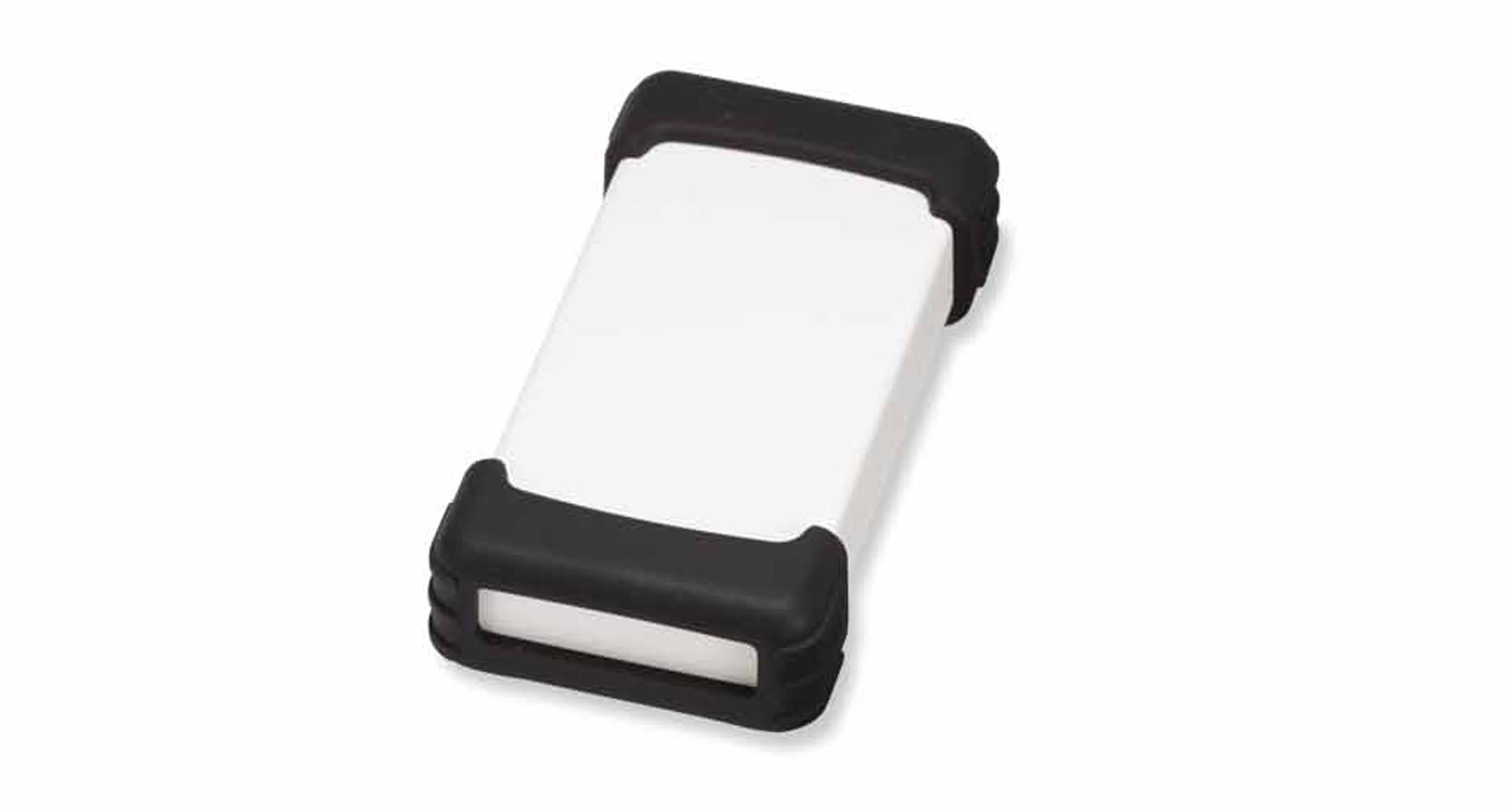 シリコンプロテクター付プラスチックケース TWSシリーズ:オフホワイト/ブラックの画像