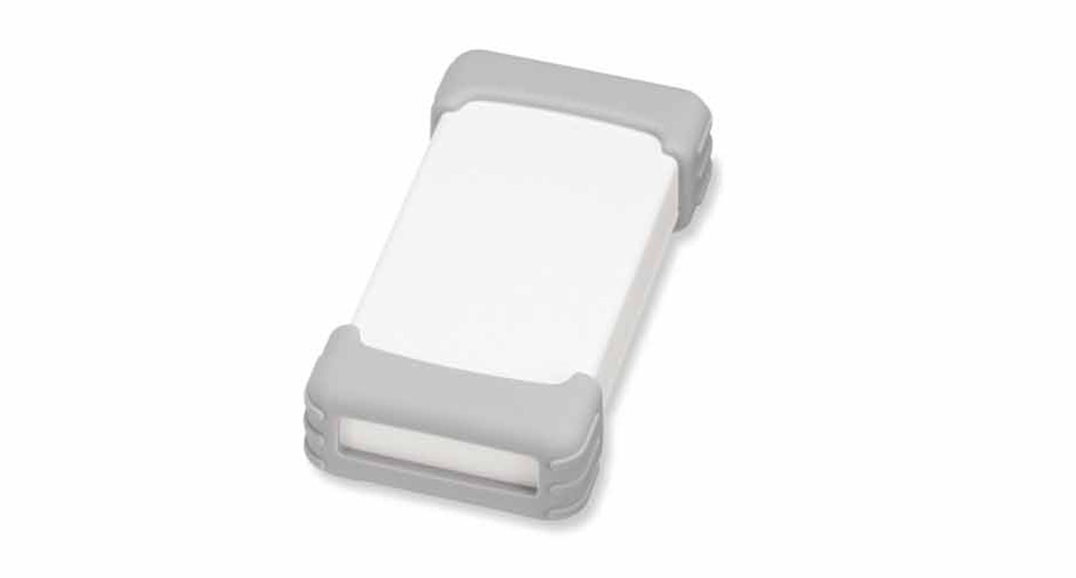 シリコンプロテクター付プラスチックケース TWSシリーズ:オフホワイト/ライトグレーの画像