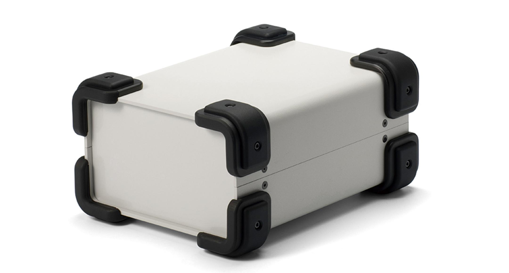 コーナーガード付フリーサイズケース UCGSシリーズ:ライトグレー/ブラックの画像