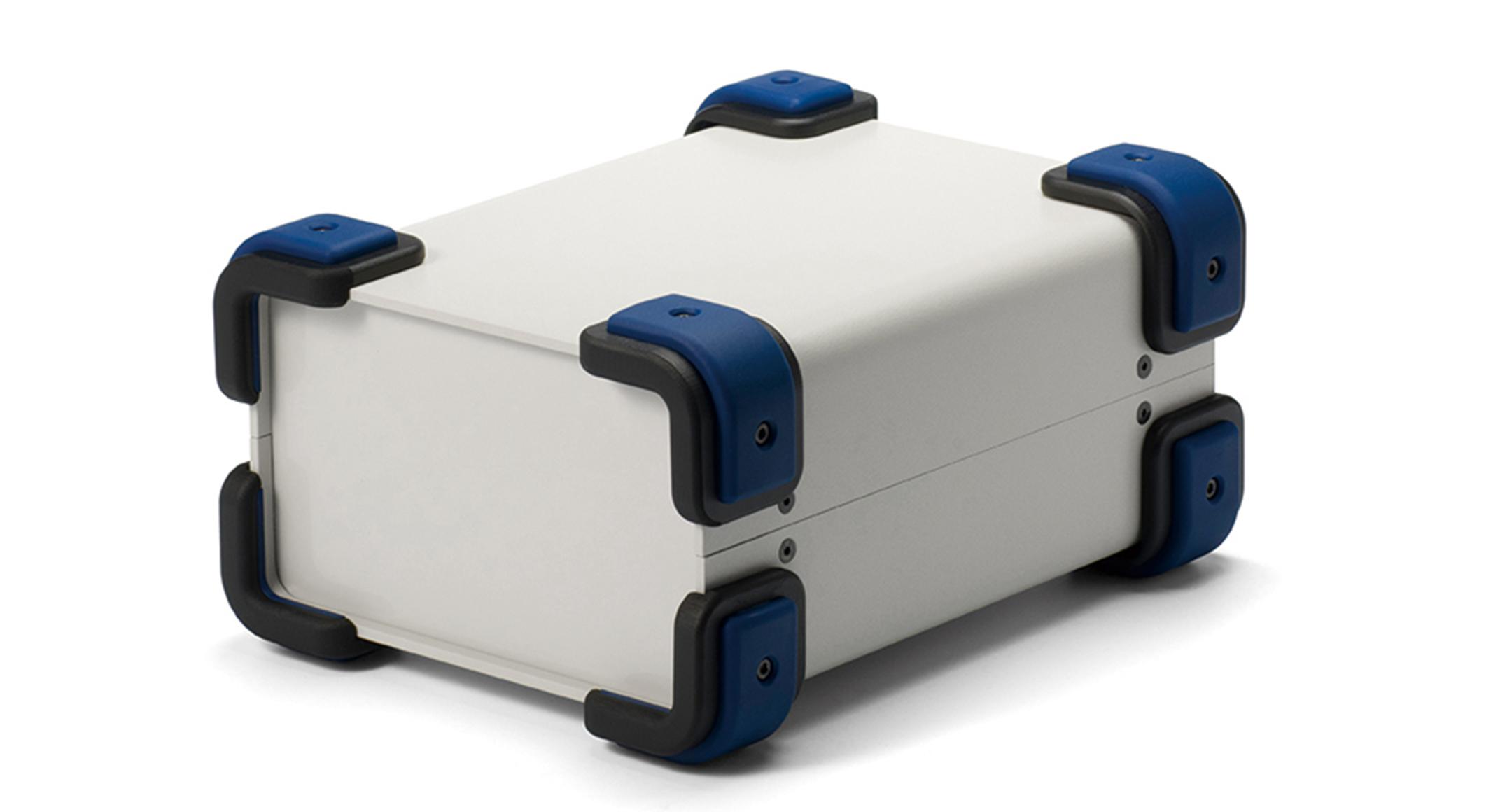 コーナーガード付フリーサイズケース UCGSシリーズ:ライトグレー/ネイビーの画像