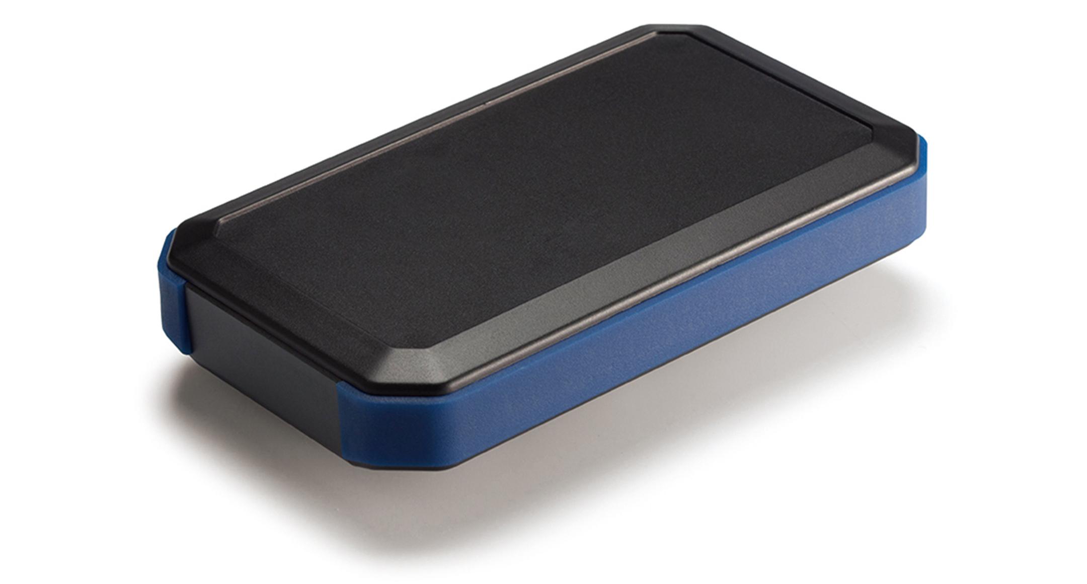 IP67 防水ハンドヘルドケース WHシリーズ:ブラック/ネイビーブルーの画像