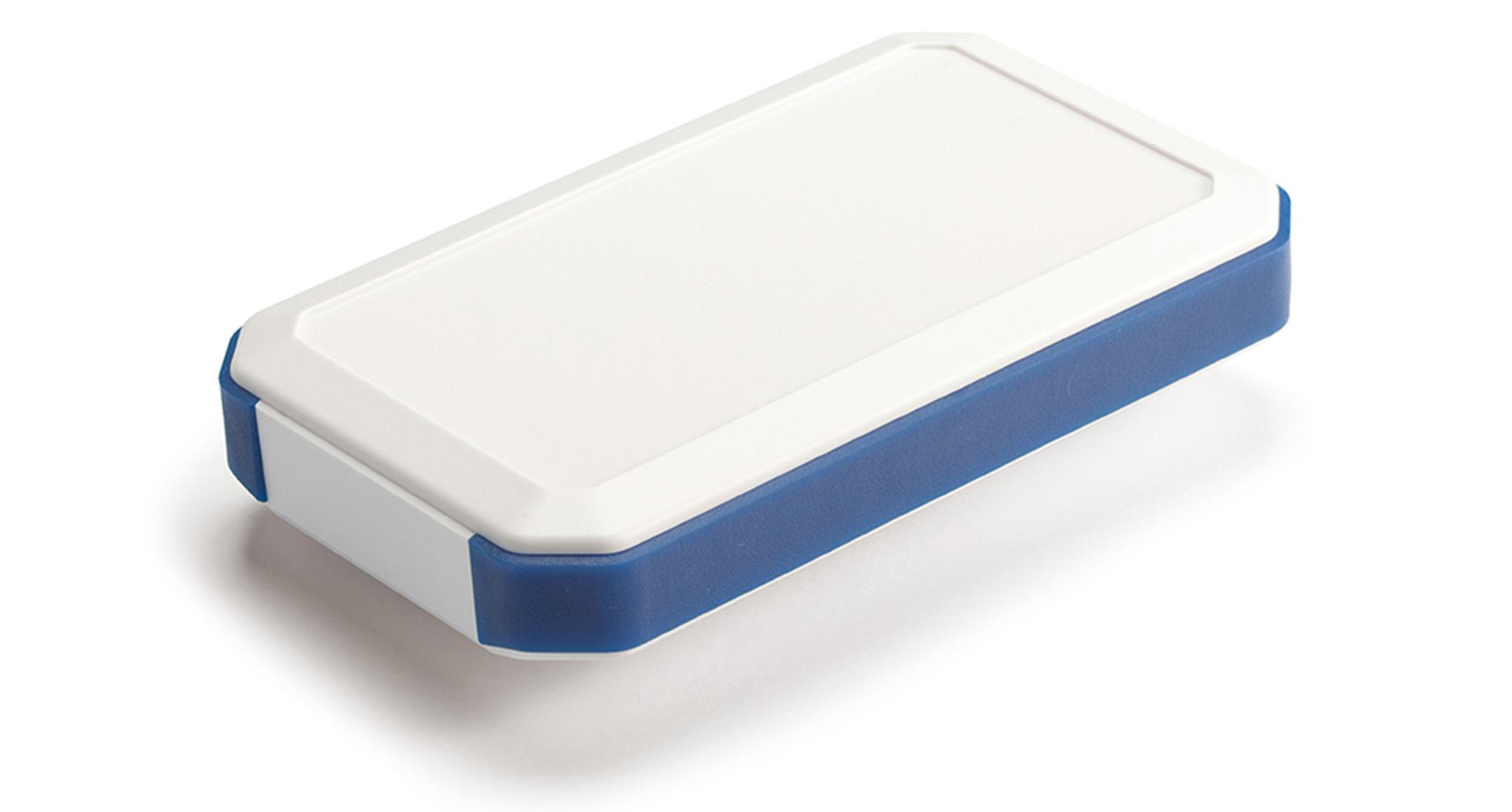 IP67 防水ハンドヘルドケース WHシリーズ:オフホワイト/ネイビーブルーの画像