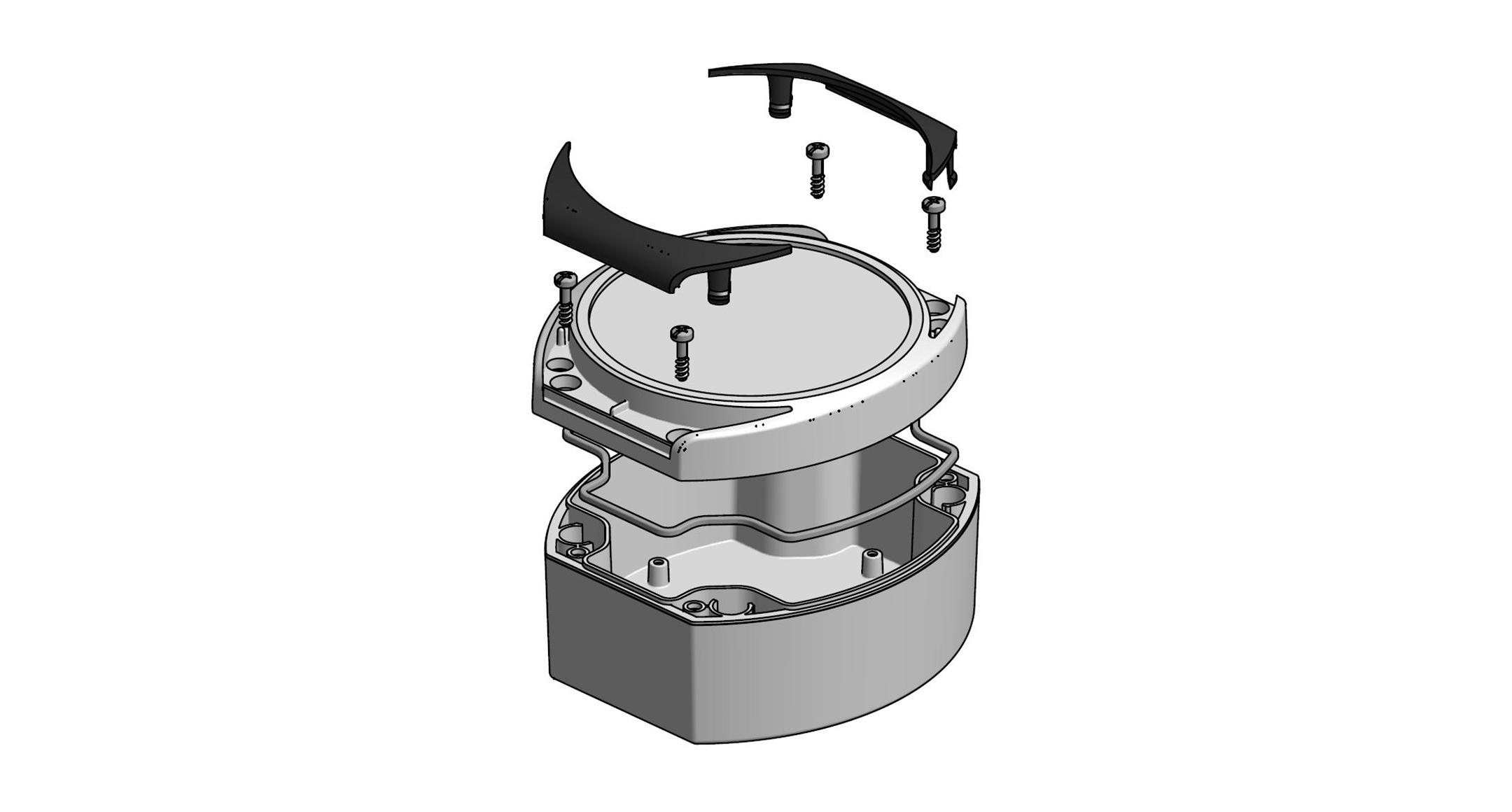 円形防水ボックス WRシリーズの画像